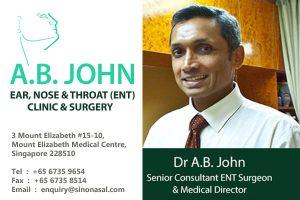A B John ENT Clinic and Surgery