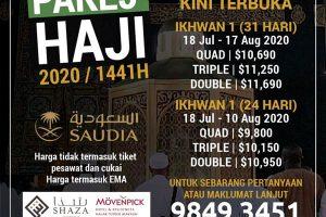 Al Fattah Pakej Haji 2020