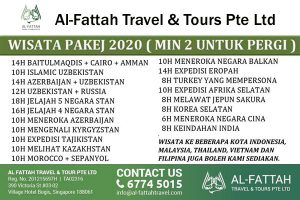 Al Fattah Tour Packages from Singapore
