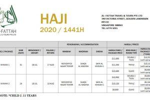 Al-Fattah Travel Haji 2020