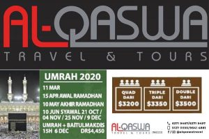 Al-Qaswa Travel Singapore Umrah 2020