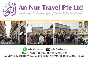 An-Nur Travel Italy Tour from Singapore