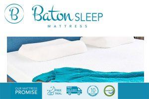 Baton Sleep Contour Pillow