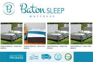 Baton Sleep Mattress Singapore