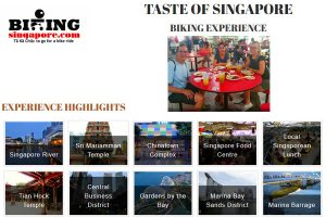 Bike and food tour singapore