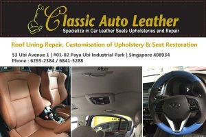 Car Leather Repair Singapore