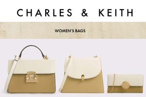 Charles and Keith Handbag Crossbody Bag Wallet