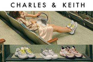 Charles and Keith - Mesh Netting Sneakers