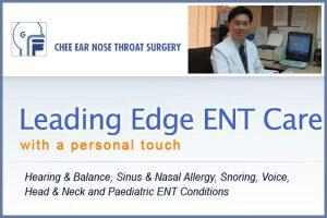 Chee Ear Nose Throat Surgery