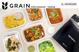 Grain online meal delivery SG