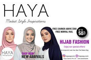 HAYA Singapore Hijab Online