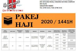 Hahnemann Travel Haji 2020