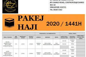 Hajj Package 2020 Singapore by EZ Travel