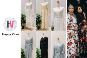 Happy Vibes - Online Muslimah Shopping