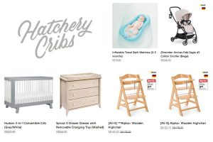 Hatchery Cribs Singapore