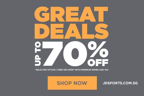 JD Sports SG 70% off