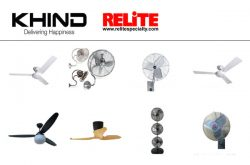 Khind Systems Singapore Relite Fans