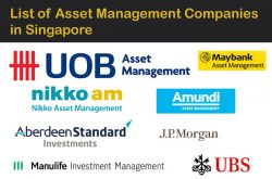 Asset Management Companies in Singapore List