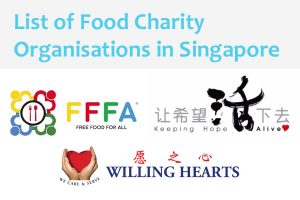 List of Food Charity Organisations in Singapore