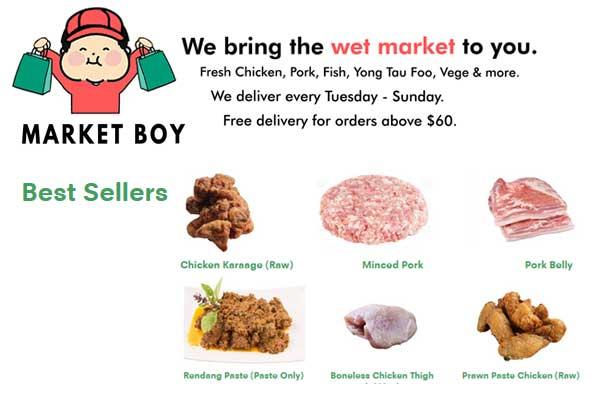 Market Boy Wet Market Best Sellers