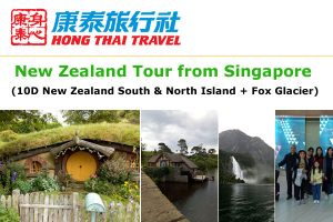 New Zealand Tour from Singapore