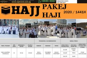 PAKEJ HAJI 2020 Singapore AQ Travel