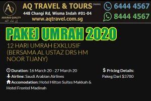 PAKEJ UMRAH 2020 AQ Travel Singapore