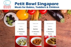 Petit Bowl Singapore. Meals for Babies, Toddlers & Children
