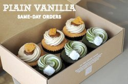 Plain Vanilla Bakery Cupcake Singapore