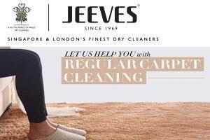 Regular Carpet Cleaning Singapore