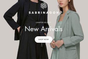 Sabrinagoh contemporary fashion brand
