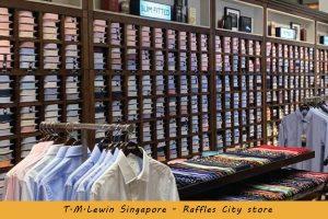 TMLewin Singapore Raffles City store