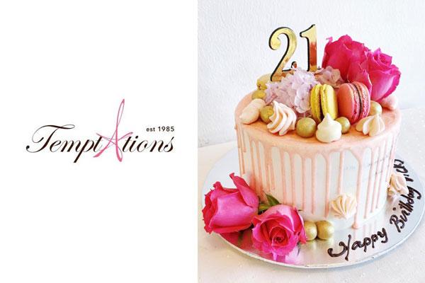 Temptations Cakes Birthday Cake