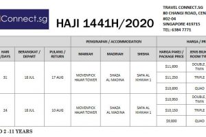 TravelConnect sg Haji 2020