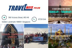 Travelways Pte Ltd Singapore