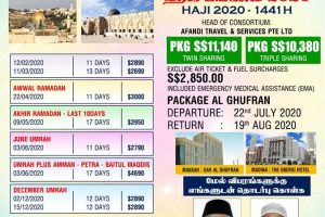 UMRAH 2020 - Evershine Travel SG