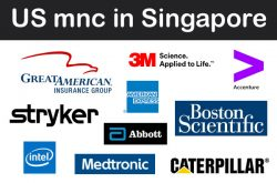 List of US MNC Companies in Singapore