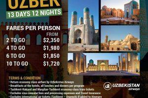 Uzbekistan Trip from Singapore