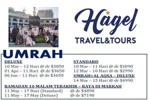Hagel Travel Umrah 2020